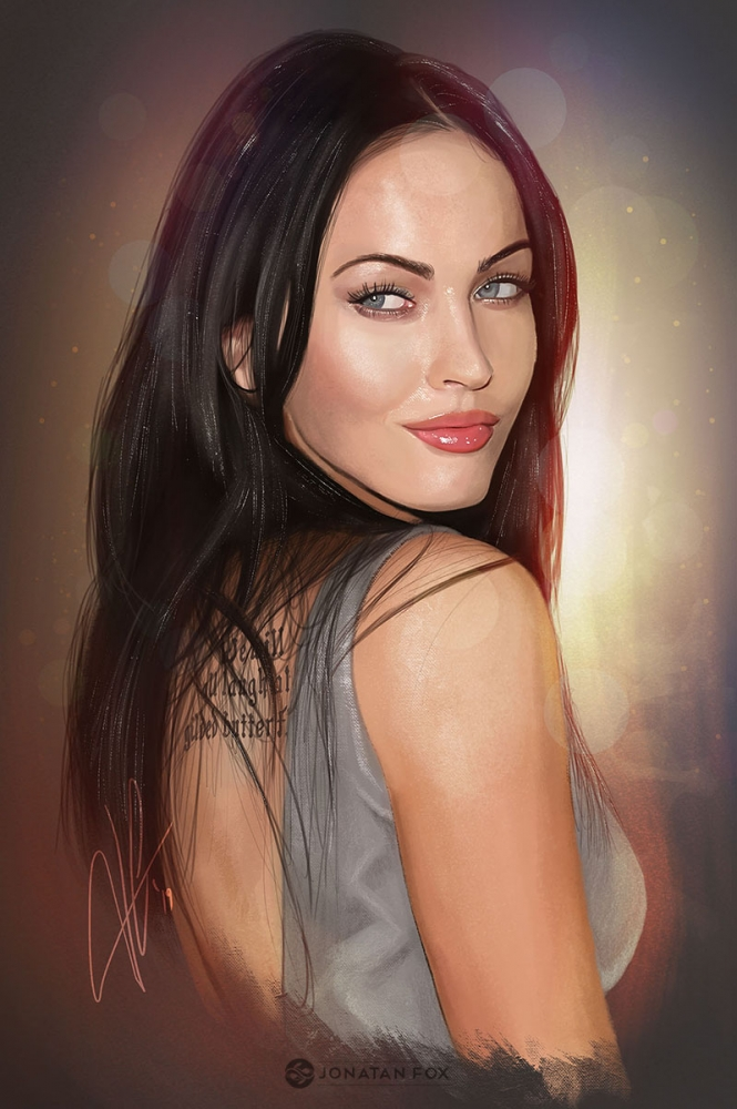 Megan Fox by JonatanFox